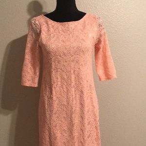 Pinkblush Lace Maternity Dress